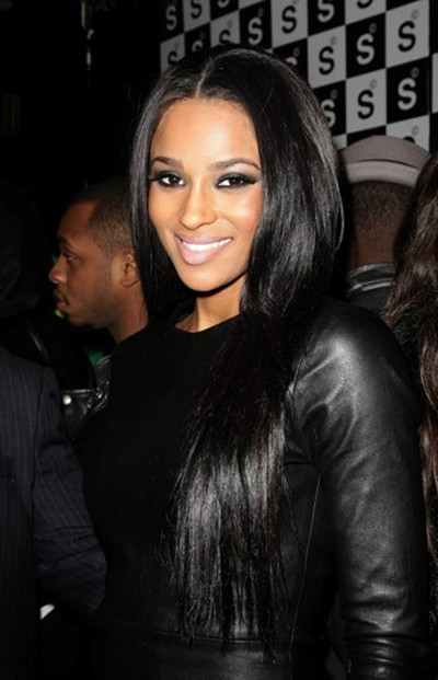 Ciara Sexy Long Straight Hairstyle By Evawigs Com Straighthairstyles